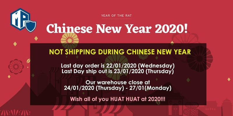 Chinese New Year 2020 Notice - MillionParcel