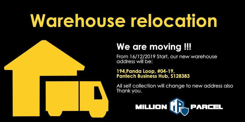 Warehouse Relocation - MillionParcel