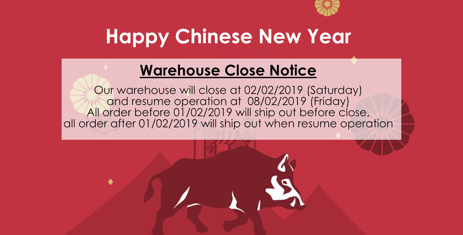 Warehouse Close Notice - MillionParcel