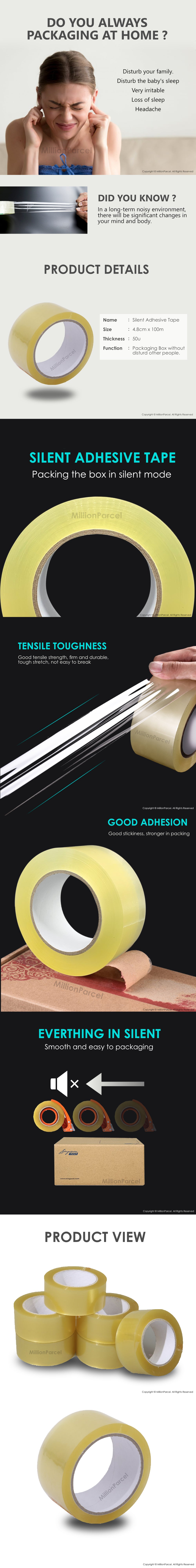 Silent Adhesive Tape