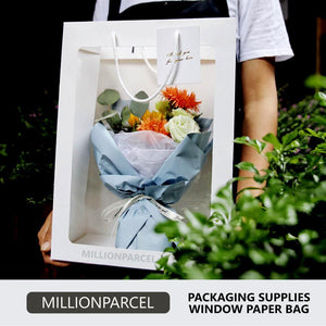 Window Paper Bag-Packaging Materials-MillionParcel