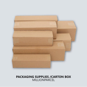 Carton Box / Rectangle Box-Packaging Materials-MillionParcel