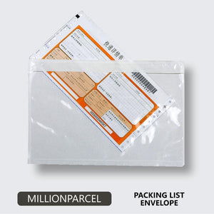 Packing List Envelope / Adhesive Consignment Note - MillionParcel