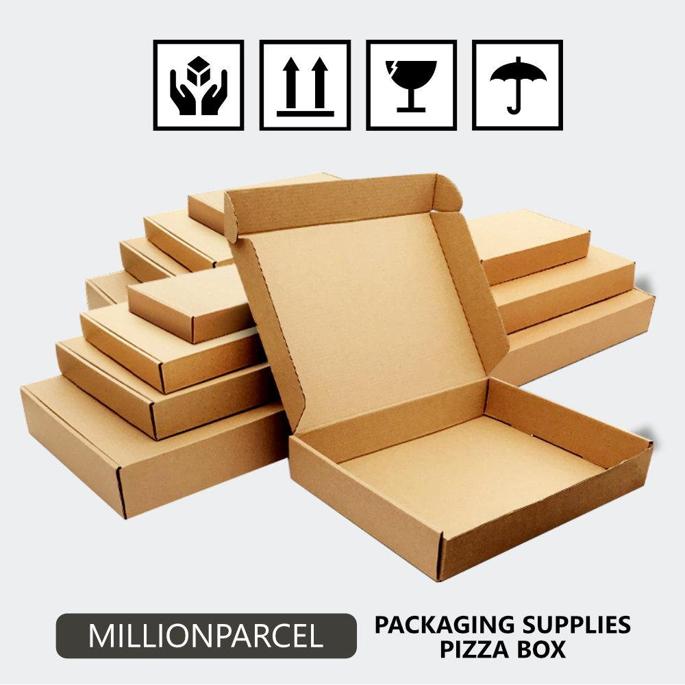 Pizza Box / Die Cut Carton Box - MillionParcel