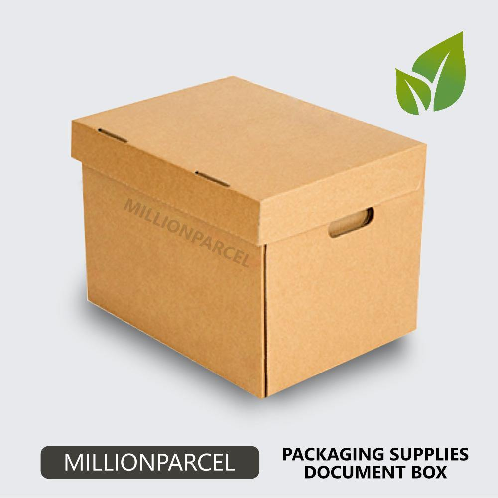 Document Carton Box-Packaging Materials-MillionParcel