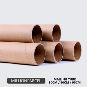 Kraft Mailing Tube-Packaging Materials-MillionParcel