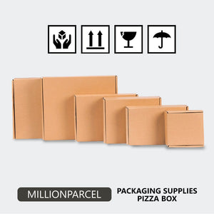 Pizza Box/Die Cut Carton Box in Singapore-Packaging Materials-MillionParcel