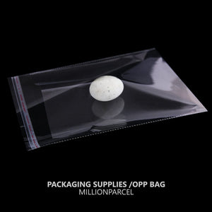 Transparent Self Adhesive OPP Plastic Bag-Packaging Materials-MillionParcel