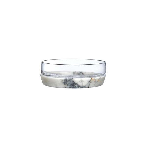 Nude Chill Bowl with Marble Base L