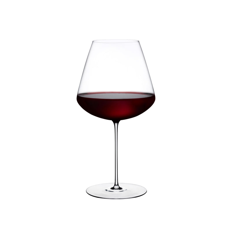 Nude Stem Zero Elegant Red Wine Glass Medium