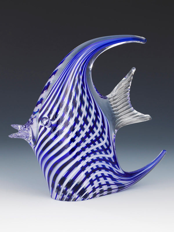 Cesm-i Bulbul Angel Fish Glass Object