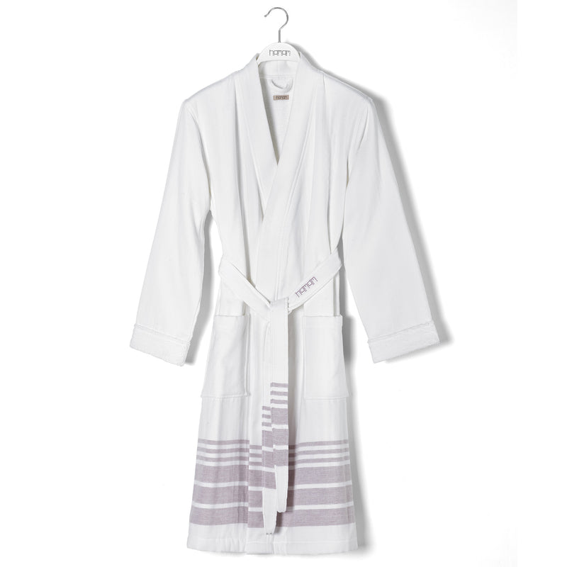 Marine Striped Bathrobe
