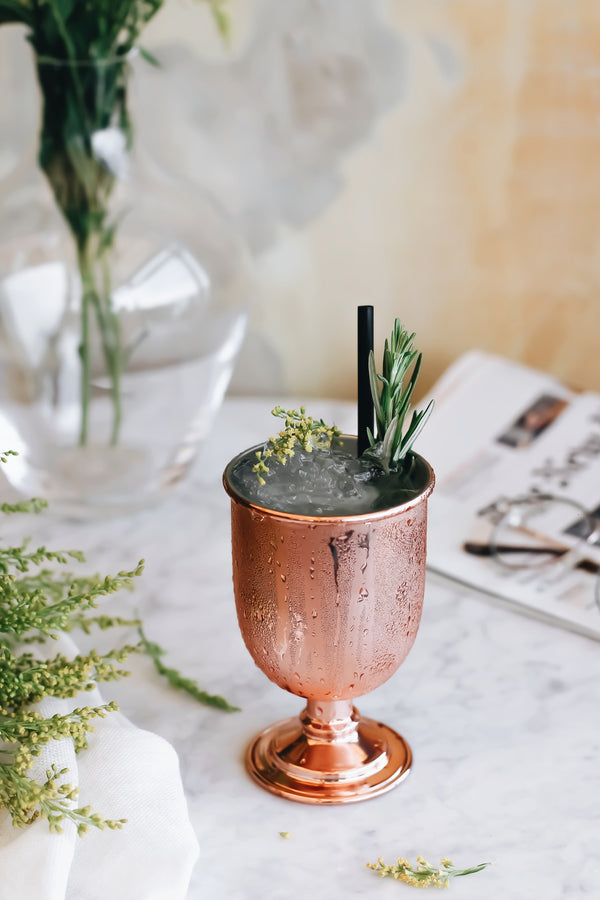 Winter Fell Copper  Goblet