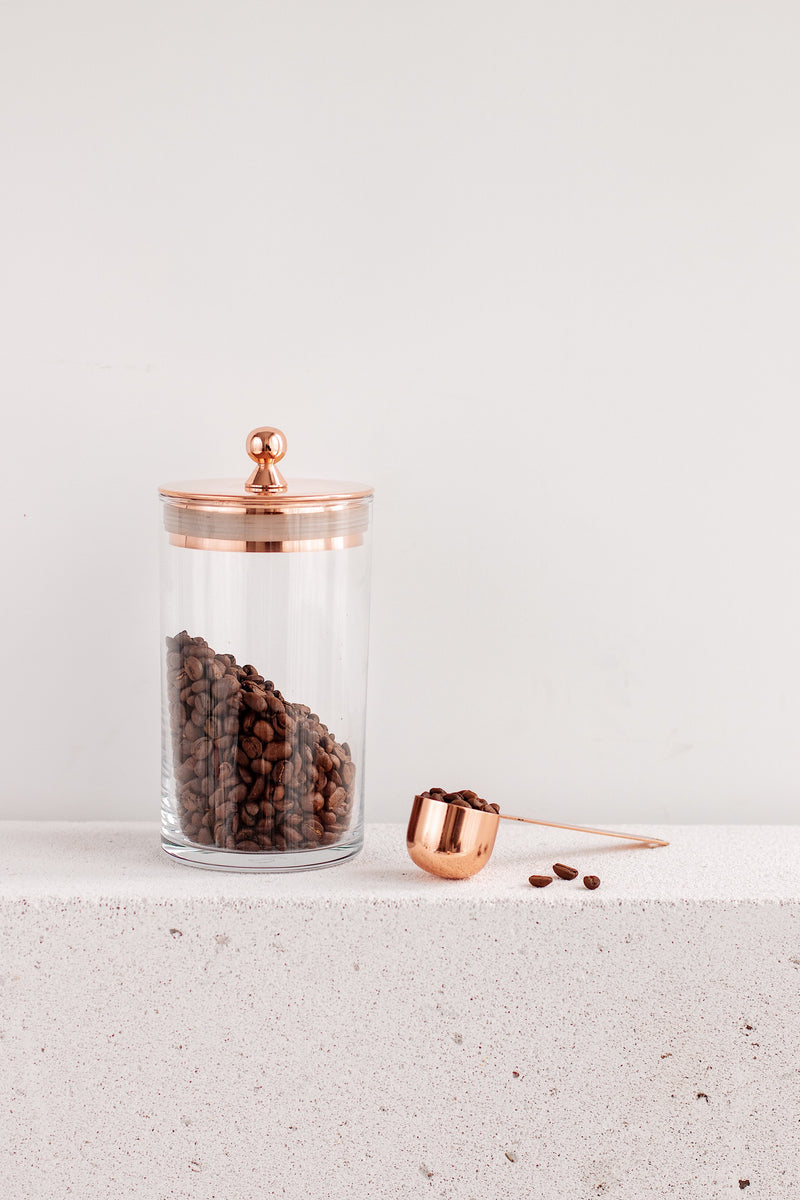 Brew Lab Copper Coffee Canister