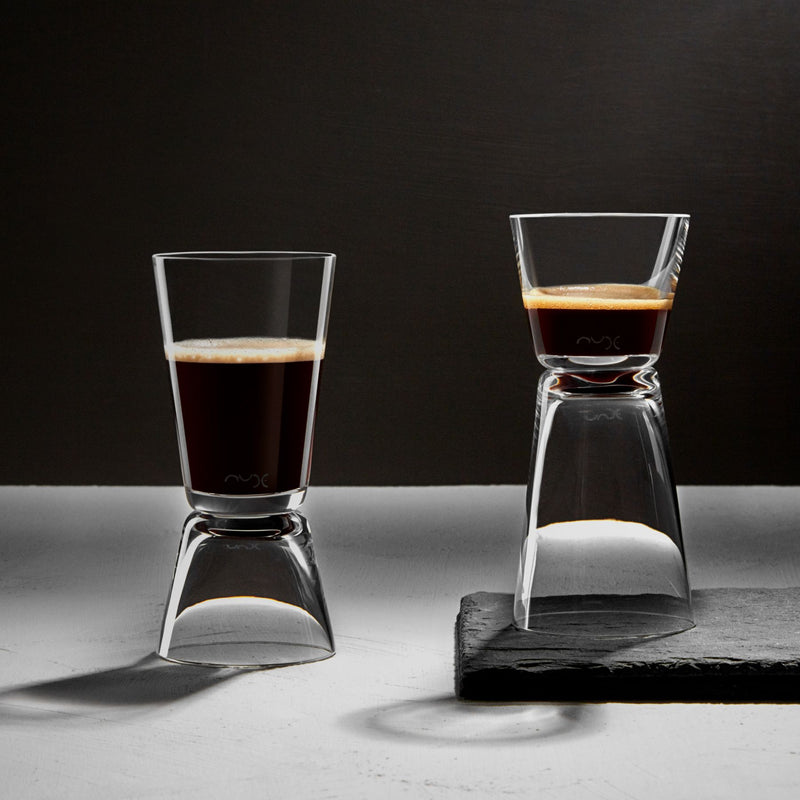 Nude Dual Set of 2 Espresso Glasses