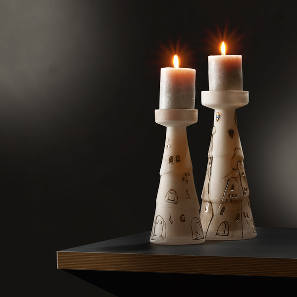 Peribacaları Chimneys Candle Holder - Short