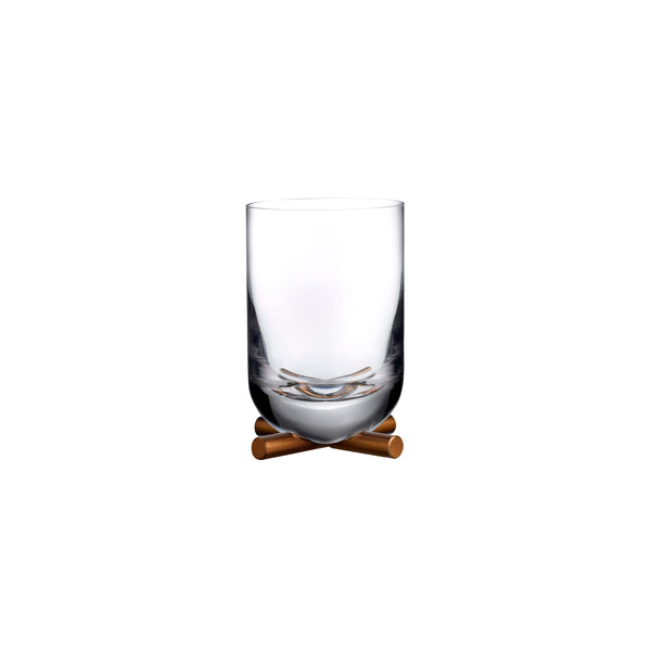 Nude Camp Whiskey DOF Glass With Brass Base
