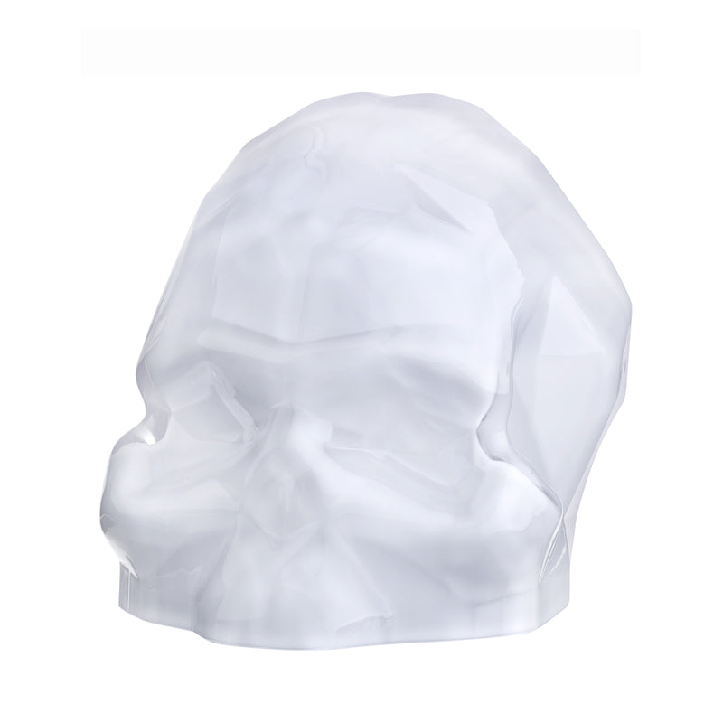 Nude Memento Mori Faceted Skull Large