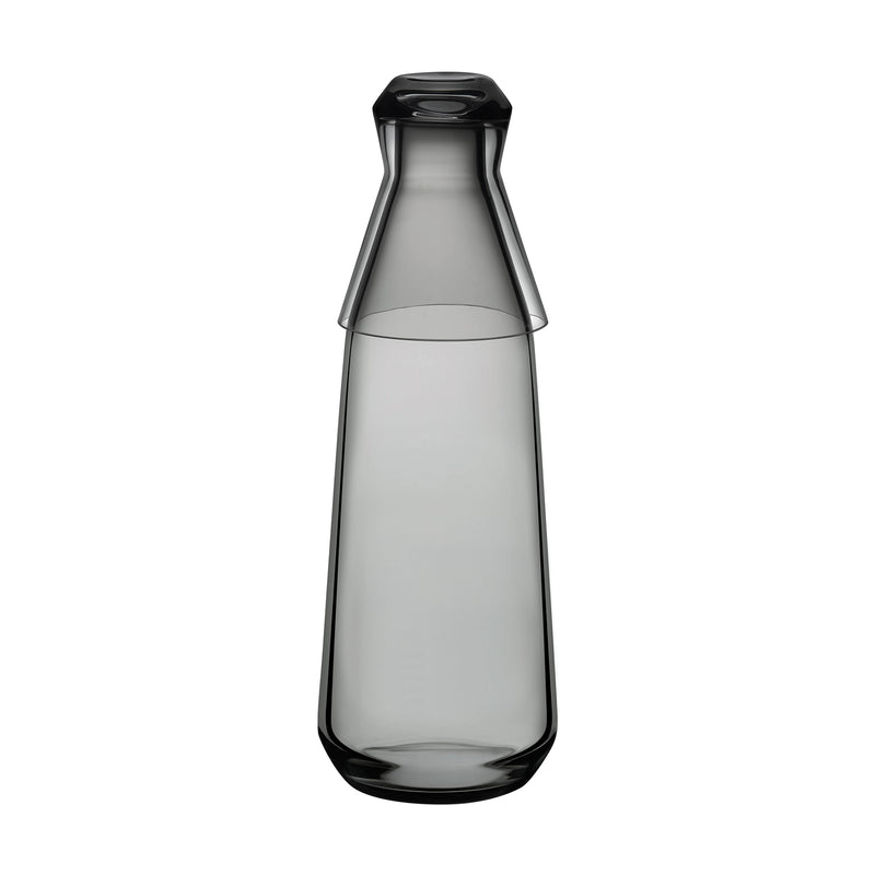 Nude Rhythm Water Carafe with Glass Smoke