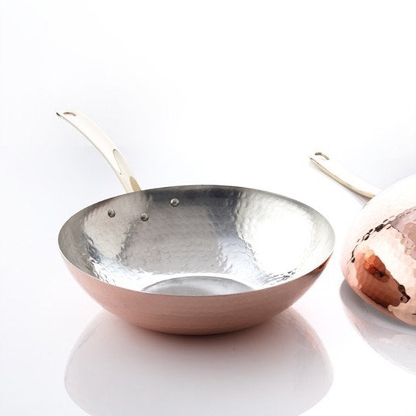 Copper Wok Pan