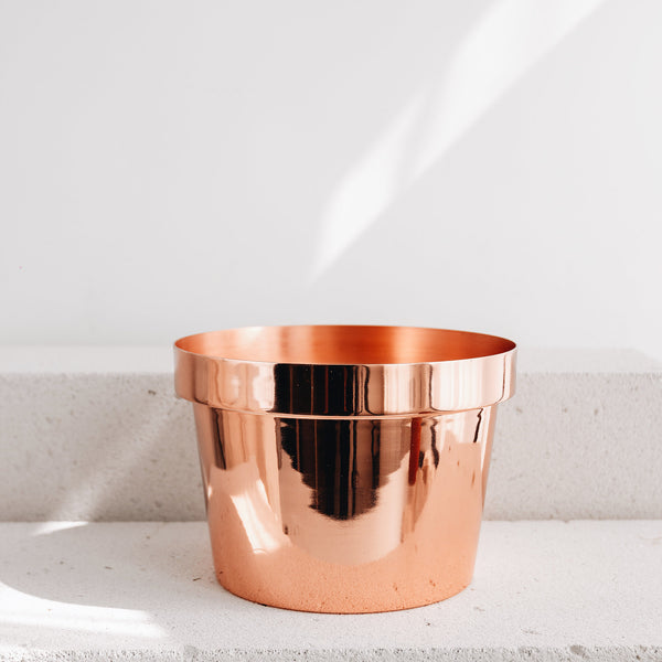 Agrarian Copper Plant Holder Maxi