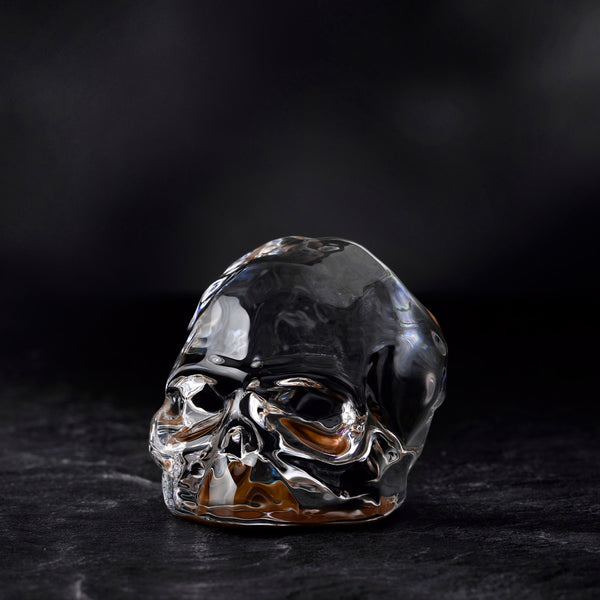 Nude Memento Mori Faceted Skull Bottom Copper Coating Small