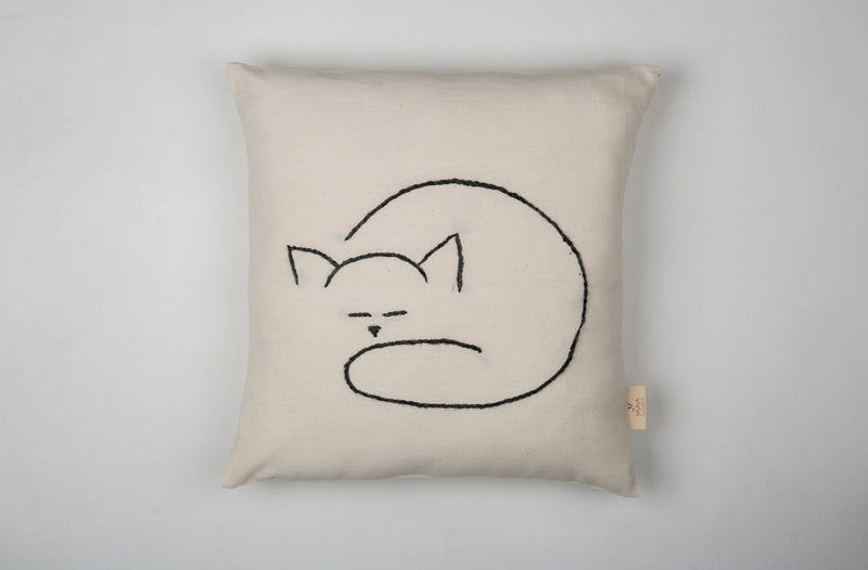 MUNA Sleeping Cat - Kids Pillow/Cushion