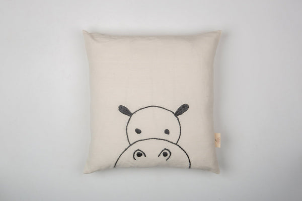 MUNA Hippo - Kids Pillow/Cushion