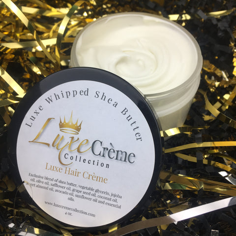 Luxe Hair Crème Whipped Shea Butter