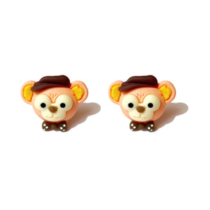Duffy Bear Post Earrings