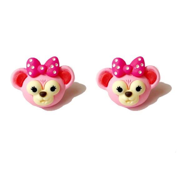 Shellie May Bear Post Earrings