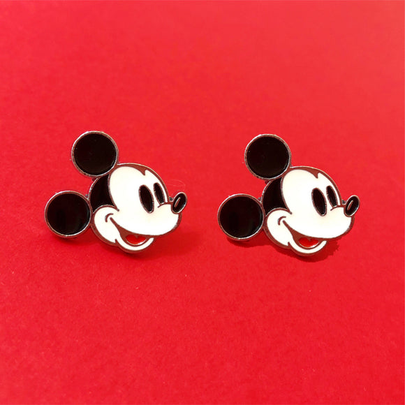 Classic Mouse Enamel Post Earrings
