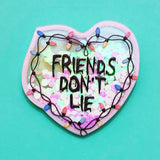 Friends Don't Lie Stranger Things Heart Pin Brooch