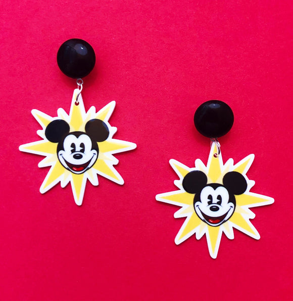 Mickey's Fun Wheel Drop Earrings