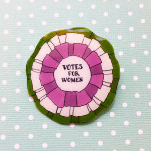 Votes for Women Suffragette Mary Poppins Brooch