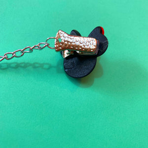 Minnie Mouse Collar Clips or Sweater Guards