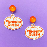 Pumpkin Queen Drop Earrings