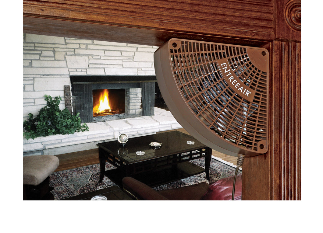 EntreeAir® Door Frame Fan™ Brown - RR100-B