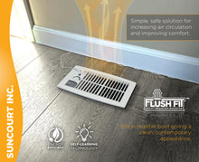 Load image into Gallery viewer, FLUSH FIT™ REGISTER BOOSTER™ | HC500-W (WHITE)
