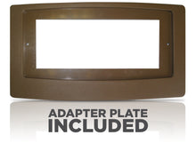 Load image into Gallery viewer, FLUSH FIT™ REGISTER BOOSTER™ WITH ADAPTOR PLATE | HC500-BPL (BROWN)
