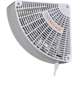 EntreeAir® Door Frame Fan™ White - RR100
