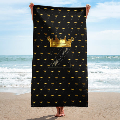 Mxlcxlm Z Black Towel