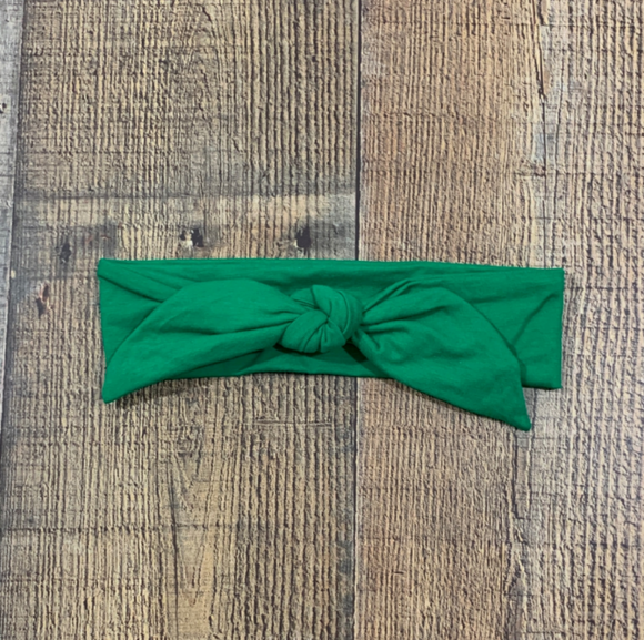 Copy of Mint And Gold Dots Knot Headband