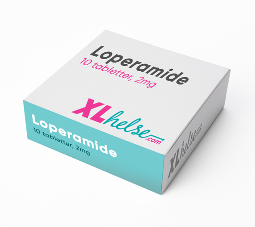 Loperamide 10 tabletter á 2mg