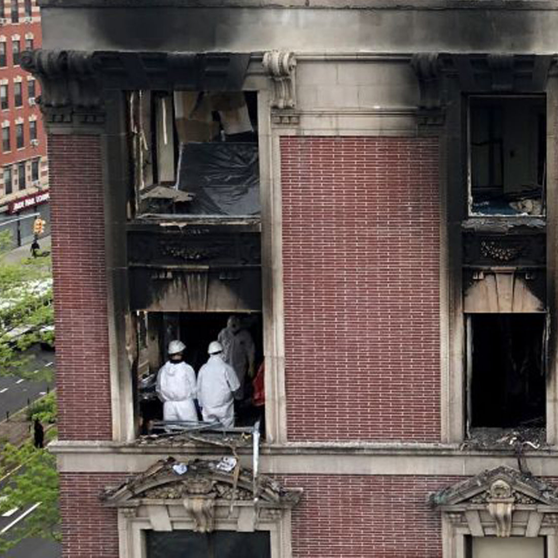 Terrible Harlem fire steals life from 6 in NYCHA building