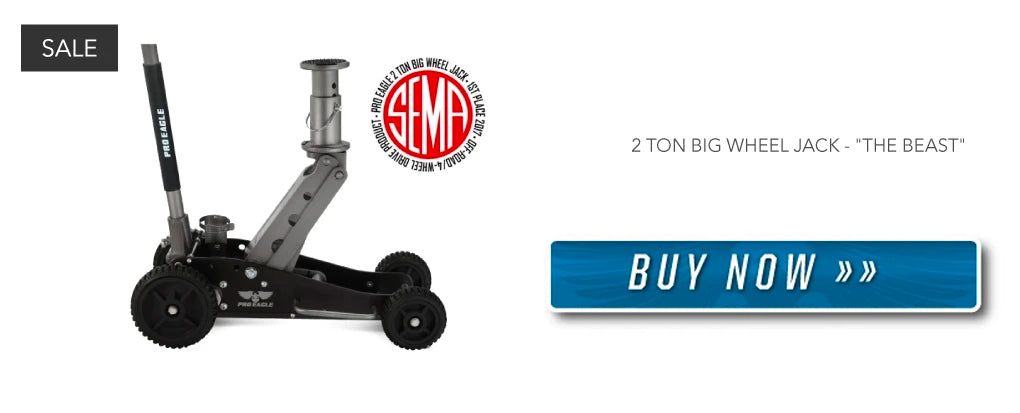 2 Ton Off-Road Jack for your 4WD - Buy Now!