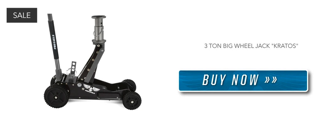 3 Ton Off-Road Jack for your 4WD - Buy Your's Now!