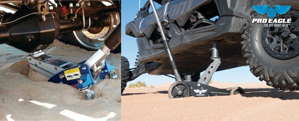 2 Ton Off-Road Jack for your 4WD - Sand Ready Jack