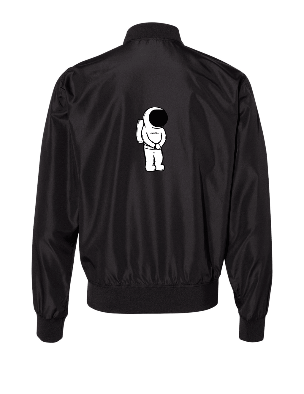 Simple Space Cadet Bomber Jacket - Twwisted