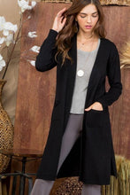 Load image into Gallery viewer, Woman in Black Cardigan